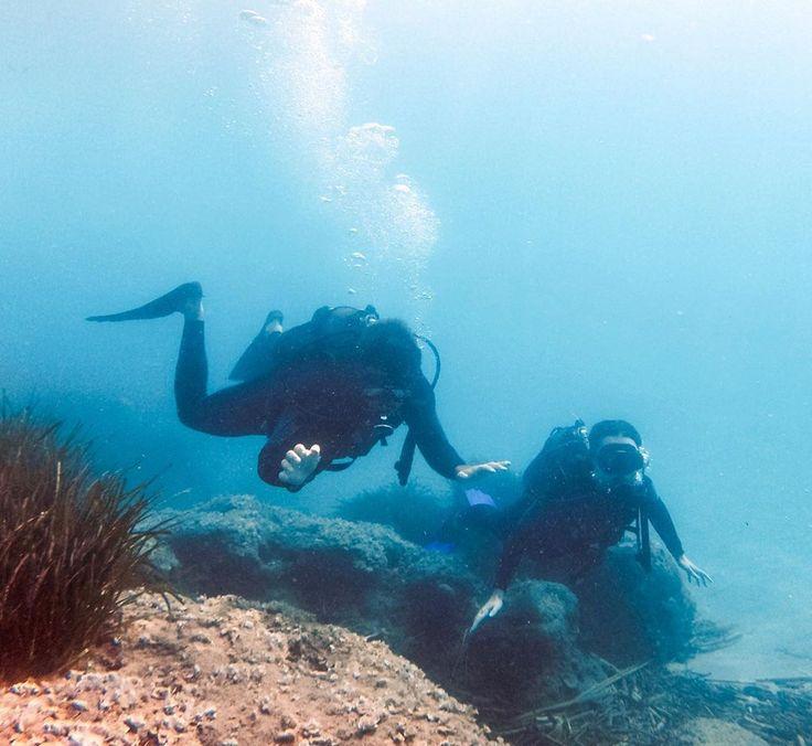 Bucket list, scuba diving, Greece, Crete, travel goals, couple goals, relationship, fish, swimming