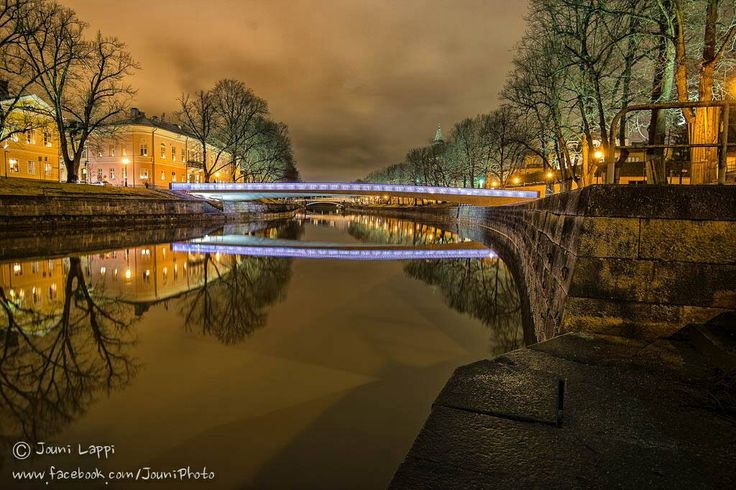 Turku, the oldest city n Finland.