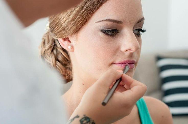 My make-up on Berni Photo by Réka Kövesdi