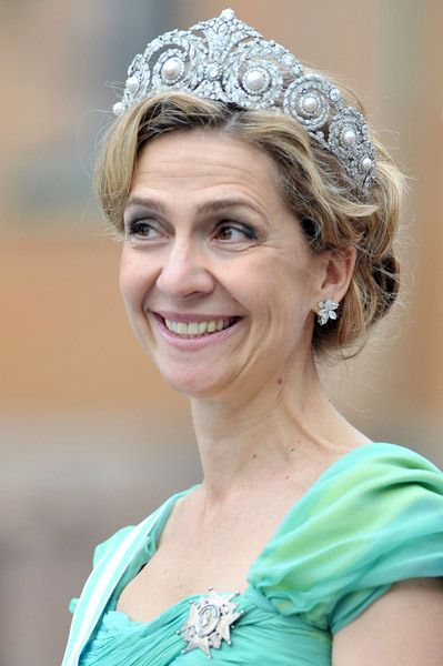 """A look at the ultimate """"bling"""" accessory for a stylish royal such as Princess Mary of Denmark and Catherine the Duchess of Cambridge: the tiara..."""
