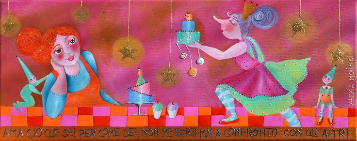 Alexia Molino - Ama ciò che sei per come sei, non metterti mai a confronto con gli altri (20x50)