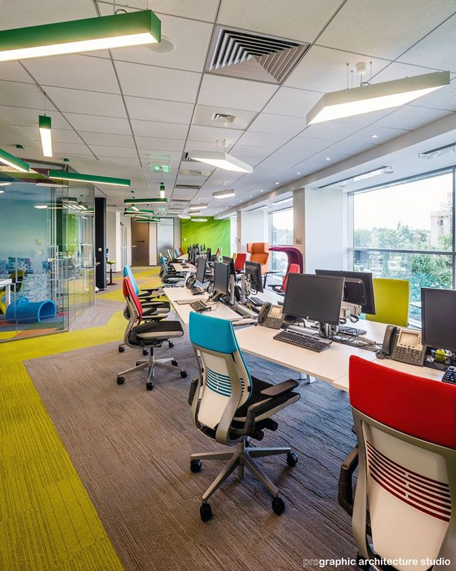 CBRE - open space with hotdesks