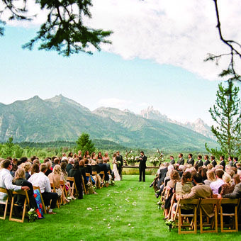 Must be rough to have the grand tetons as your backdrop...sheesh.