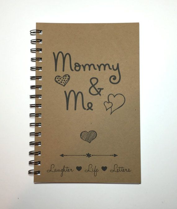Mommy and Me Letters Letters to Daughter by MisterScribbles