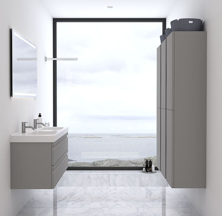 Space for one or two does not nescessarily mean that you need to extend your bathroom.
