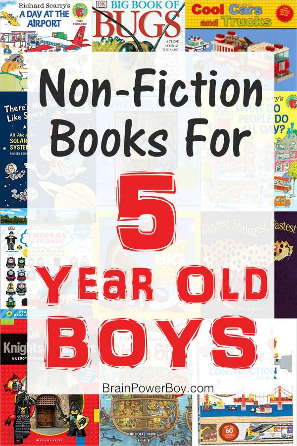 Best Books for 5 Year Old Boys – Over 25 Wonderful Titles! – Books