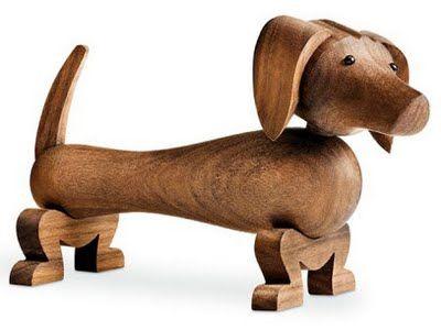 Ólöf Jakobína: Hundur Kay Bojesen - 1935: Kaybojesen, Bojesen Dogs, Wooden Dogs, Dachshund, Wooden Toys, Danishes Design, Weiner Dogs, Kay Bojesen, Wiener Dogs