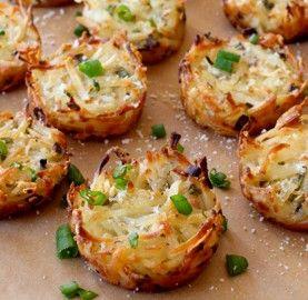 Receitas Ninhos de batata com queijo parmesão | Cozinhas Itatiaia