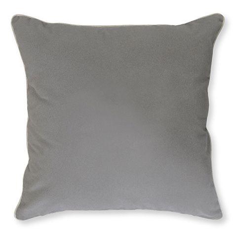 Libya Grey Velvet Cushion 45cm