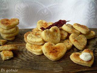 Di gotuje: Kruche ciasteczka z serka topionego