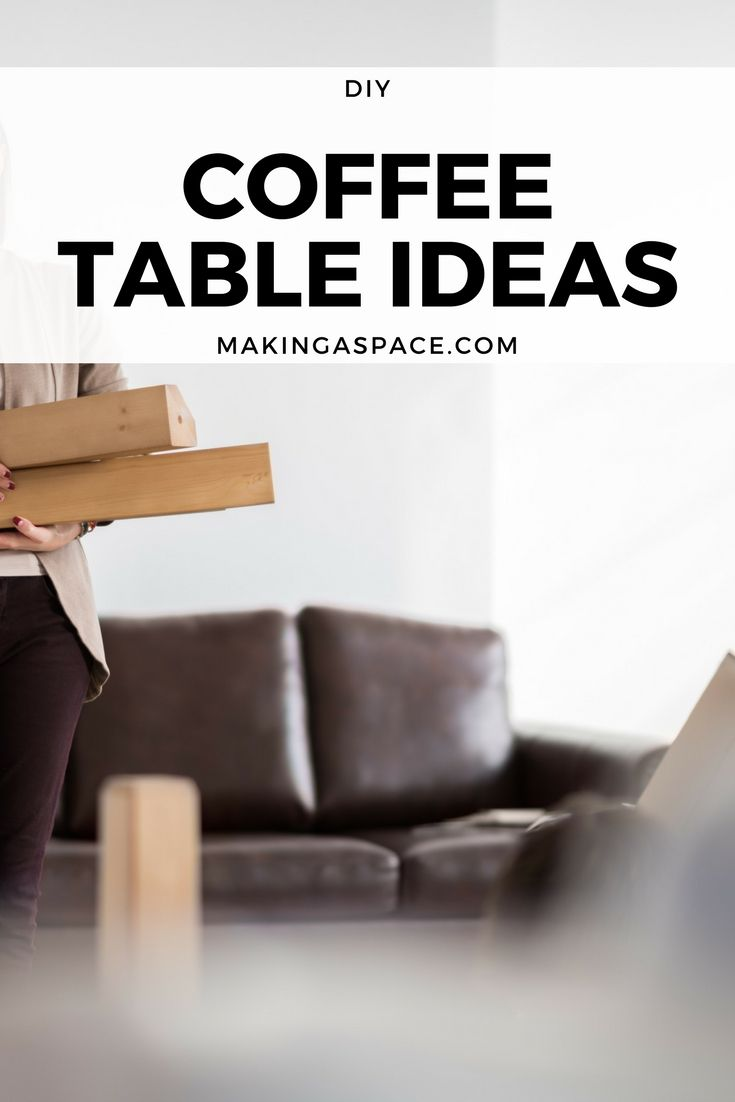 If you want the perfect coffee table that you can make your self then this list is for you! From diy rustic coffee table ideas to farmhouse style tables there is something here for everyone! Find homemade Coffee Table Ideas today with this full list of easy diy coffee table ideas!