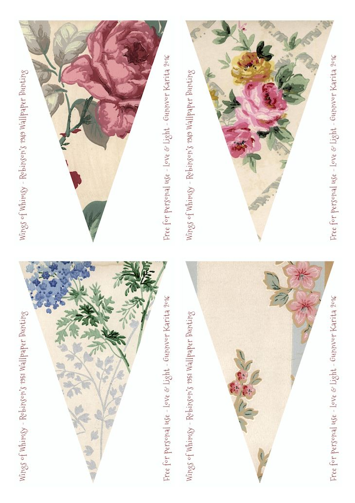 Robinson Vintage Wallpaper Flags No 209-216 – Mix & Match