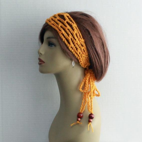 Hippie Headband Boho Headband Crochet Beaded Headband Womens Headband Hair Accessories Womens Accessories Festival Beach Summer, Unique