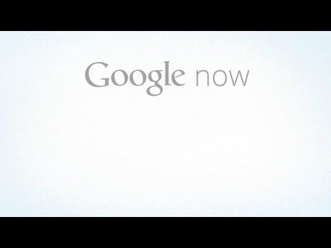 Introducing Google Now // I always like Google's product videos. With the clean and jolly animation and screen captures. #onlinevideo #productvideo