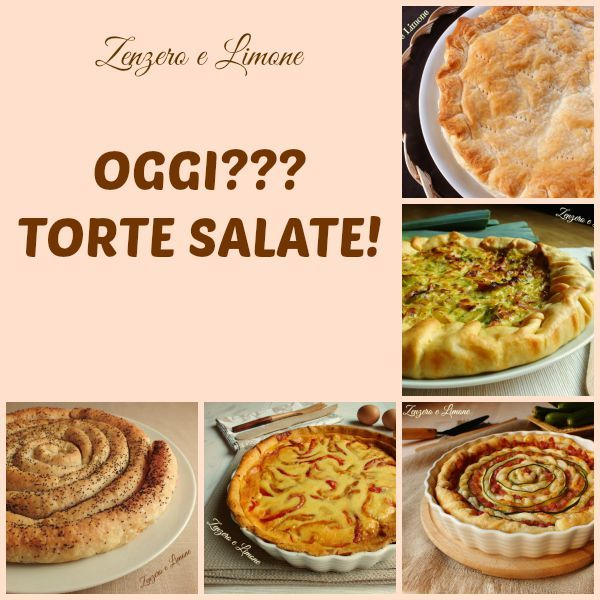 TORTE SALATE RACCOLTA