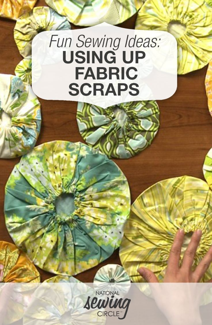Do you have a bin at home full of scrap pieces of fabric? If so, Ellen March introduces you to several creative projects that require you to use up your fabric scraps. Spark some inspiration to make something beautiful out of your sewing fabric scraps. Try one of these fun and unique projects today while utilizing these helpful tips and techniques.