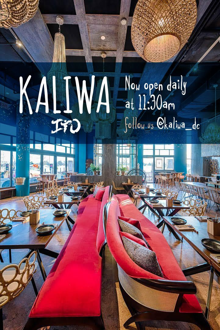 kaliwa dc places to try table decorations asian restaurants rh pinterest com
