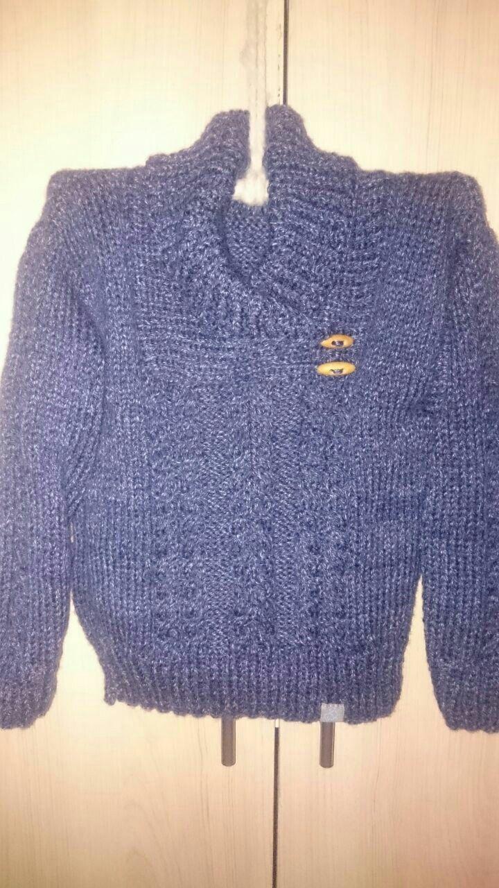 Suéter para Santi...