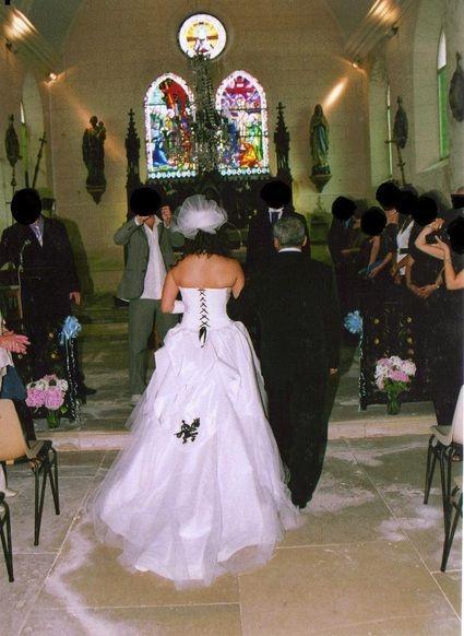 Robe de mariée unique Hervé Mariage d'occasion