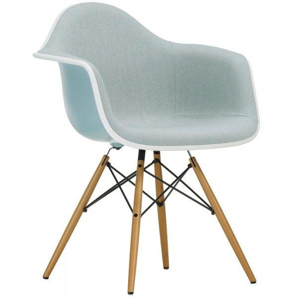 Eames DAW gestoffeerde stoel (nieuwe afmetingen)   Vitra