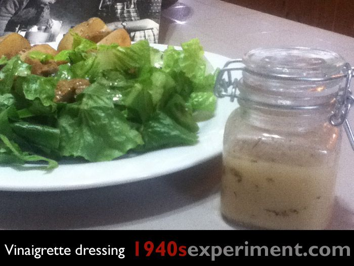 Vinaigrette dressing No 104