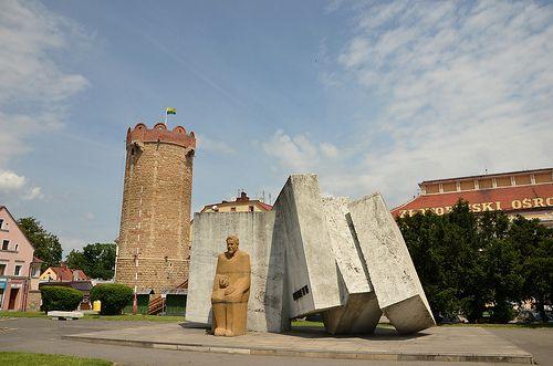 Monument in Zlotoryja
