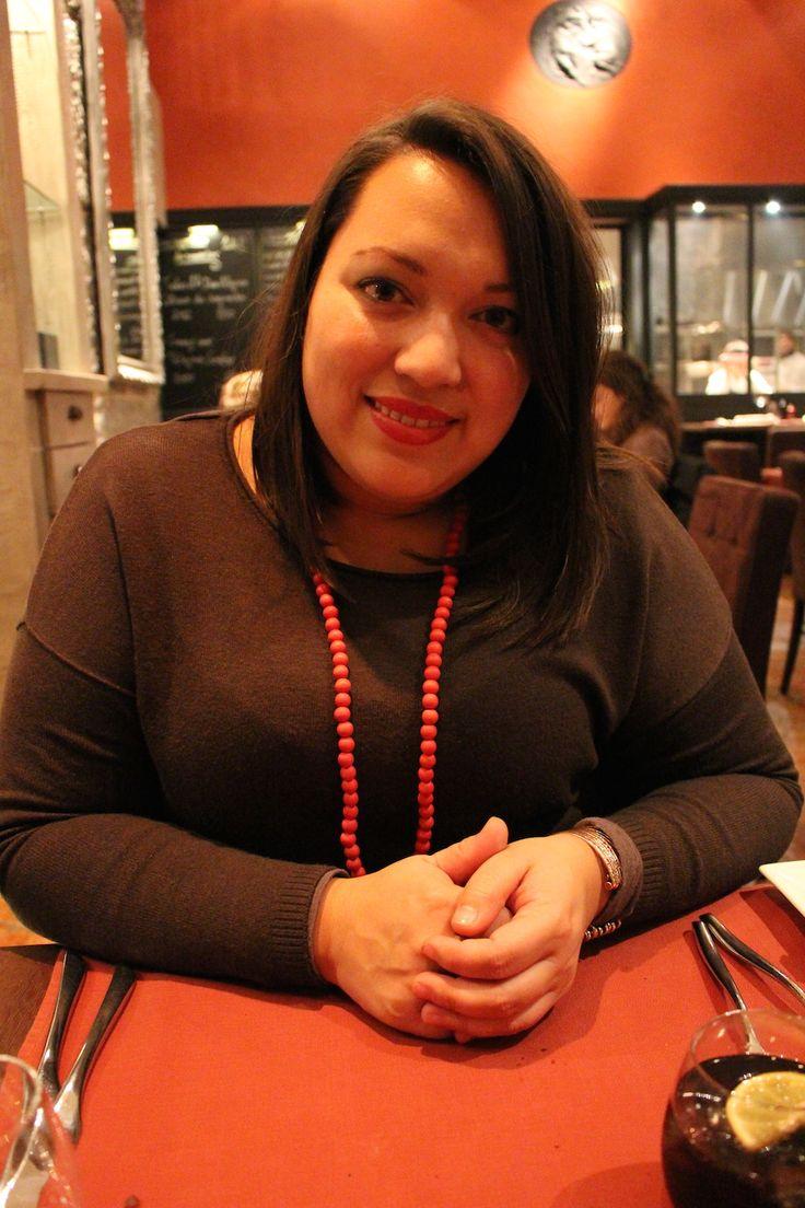 Meet Kristelle Gentina, PR & Media Relations, Geneva Tourism, a kind soul and fun too! Taken at Le Flacon restaurant in Carouge, Geneva.  web: http://leflacon.ch/