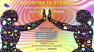 """SCUOLA COUNSELING  GRUPPI  A.I.C.I Roma Counseling :  CRESCITA PERSONALECondivisione Intervisione""""Inc..."""