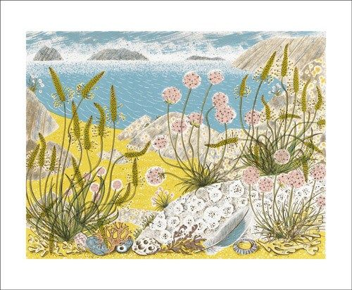 Summer Shore by Angie Lewin