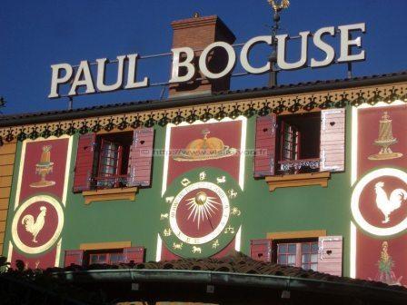 Paul Bocuse Restaurant Auberge du Pont de Collonges 5 km from Lyon