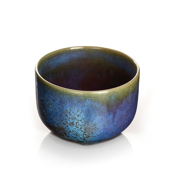 Porzellan Schale Lu-Jun des Keramikkünstlers Zi-Hao Zhang 张子豪