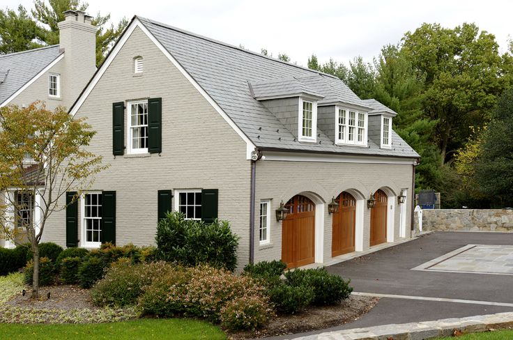 garage additions garage addition in Potomac, MD blends