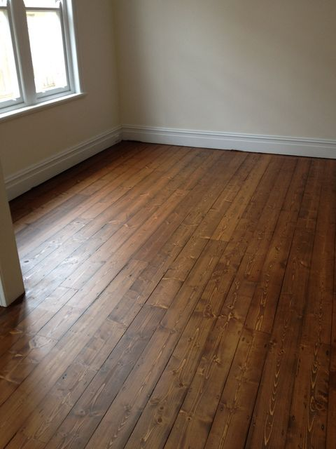 baltic pine floorboards low gloss - Google Search