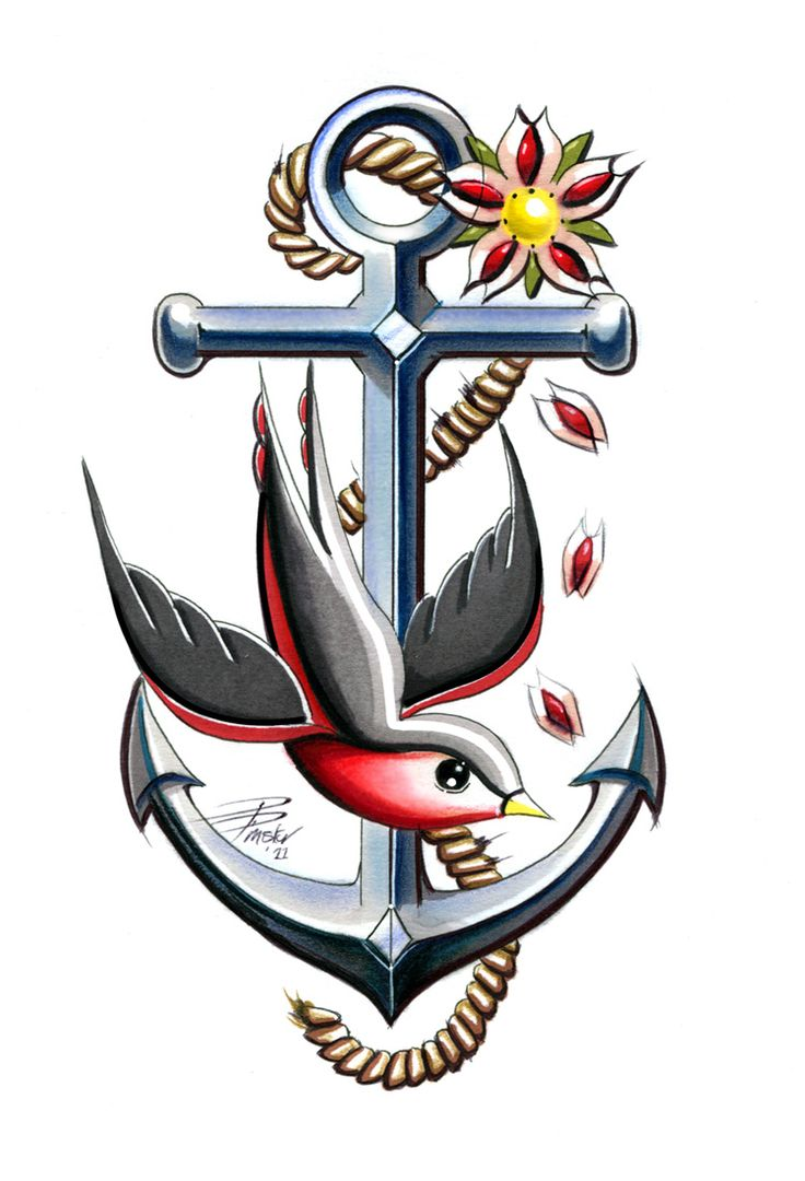 17 best ideas about anchor tattoo design on pinterest for American anchor tattoo