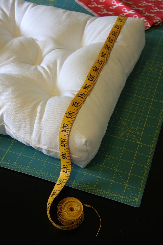 Chair Cushion {Re-Cover} Tutorial