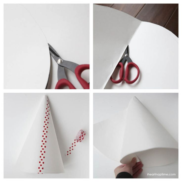 DIY coffee filter trees on iheartnaptime.net ...make these gorgeous Christmas trees for less than a buck!