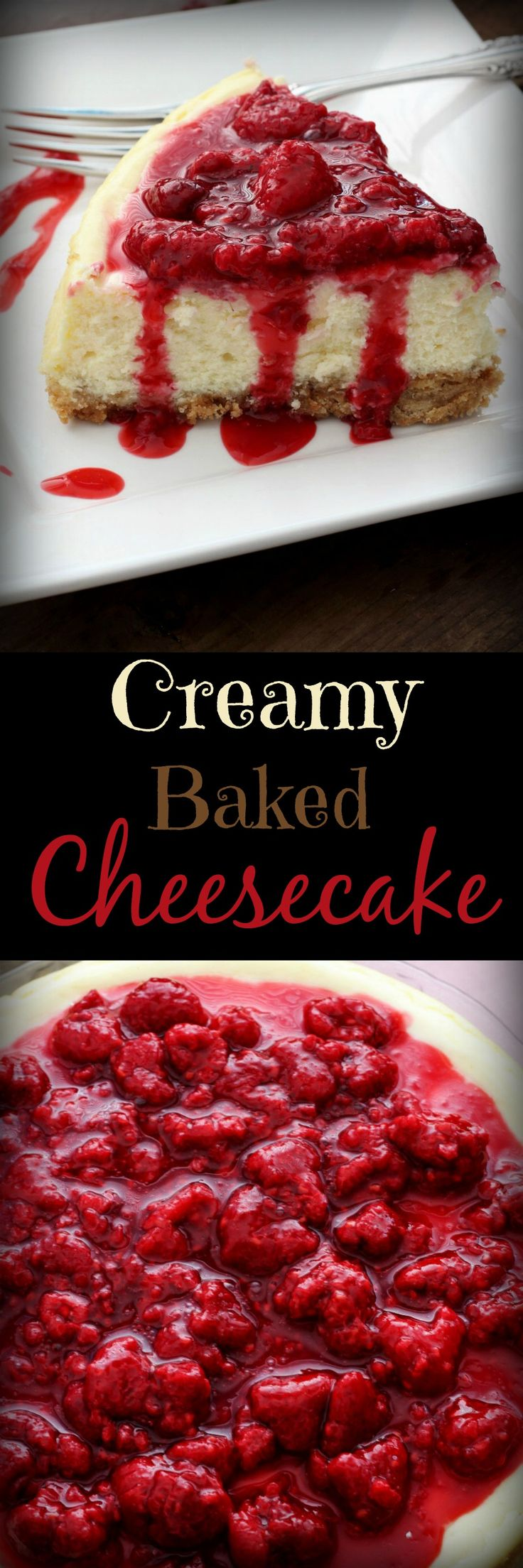 Creamy Baked Cheesecake, Recipe Treasures