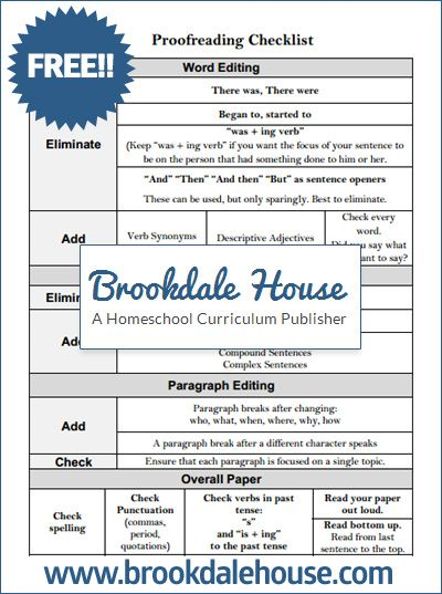 Proofreading Worksheet 6th Grade