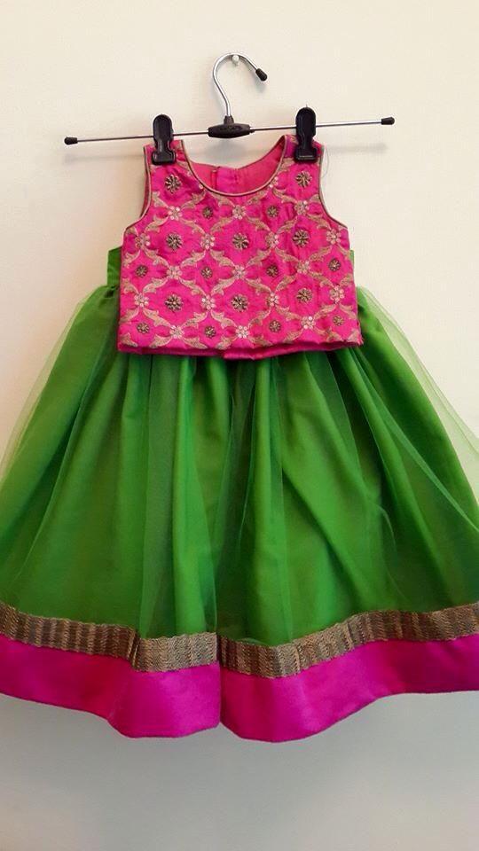 green n pink