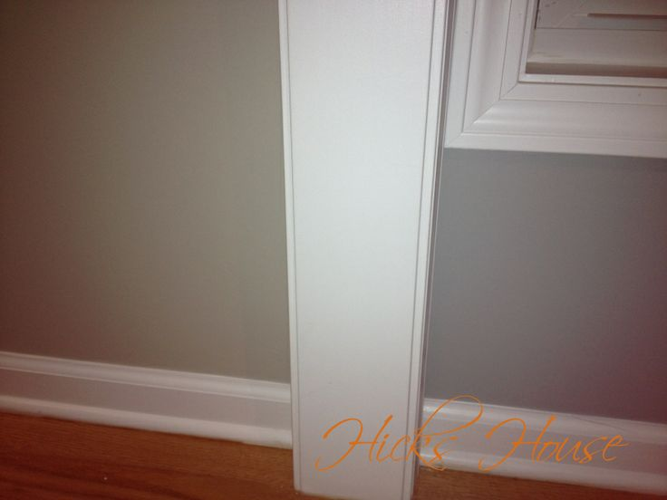 Benjamin Moore's Revere Pewter and Coventry Gray Side by Side