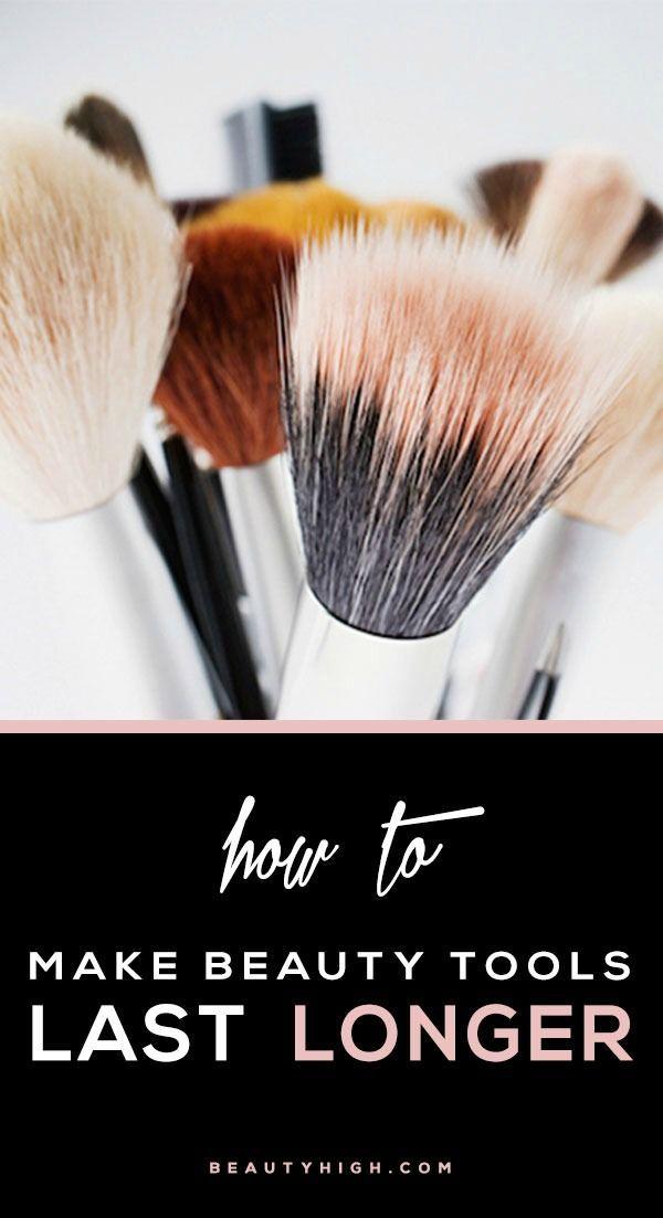6 ways to make beauty tools last longer