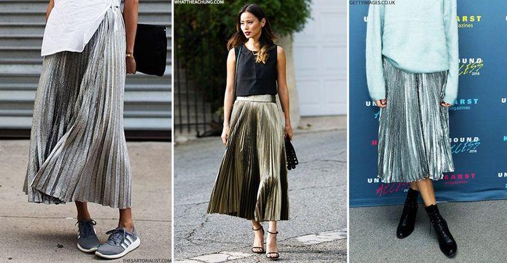 12 Metallic Skirts To Buy Now | sheerluxe.com