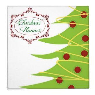 christmas binder covers