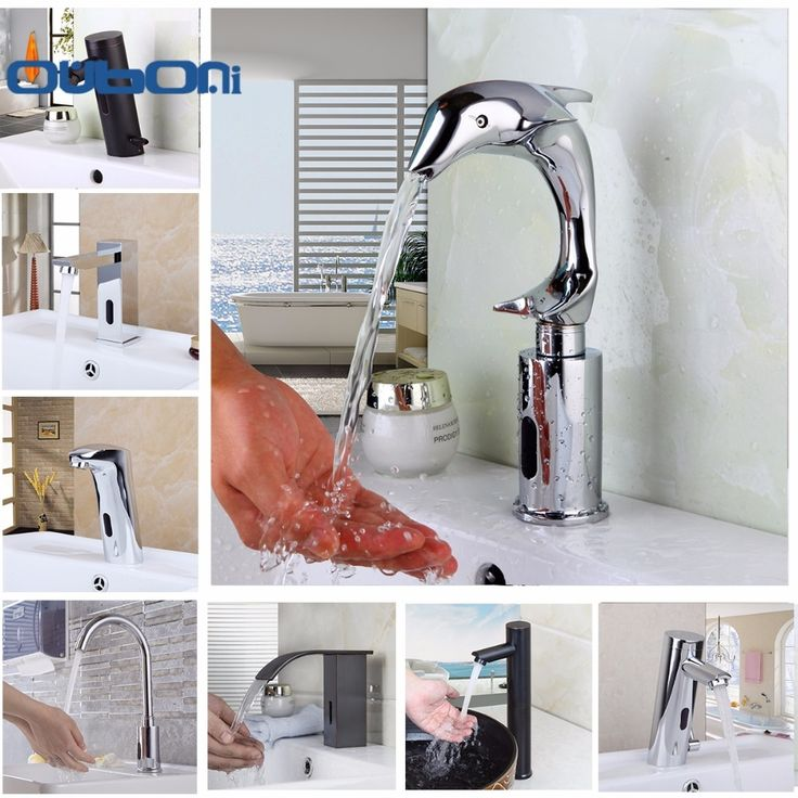 64.90$  Buy now - http://alinij.shopchina.info/go.php?t=32803184217 - OUBONI Automatic Hands Touch Sensor Faucets Bathroom Brass Sink Chrome Faucets Mixers & Taps  Basin Faucet Torneira Water Mixer  #magazineonlinebeautiful