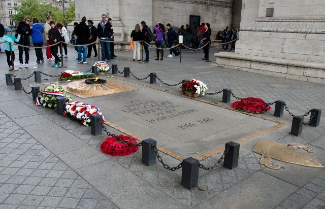 The Tomb of the Unknown Soldier, Paris, France