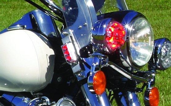 Whelen TIR3 Harley Davidson Windshield Mount