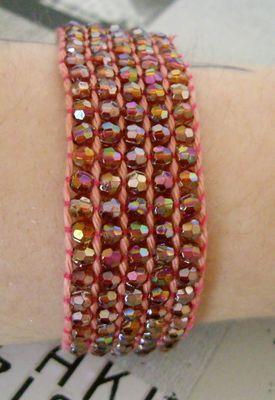 DIY Comment faire un bracelet en perles tissées - Gr création, Créatrice de Bijoux fantaisie faits main en perles, breloques, Fimo, Aluminium