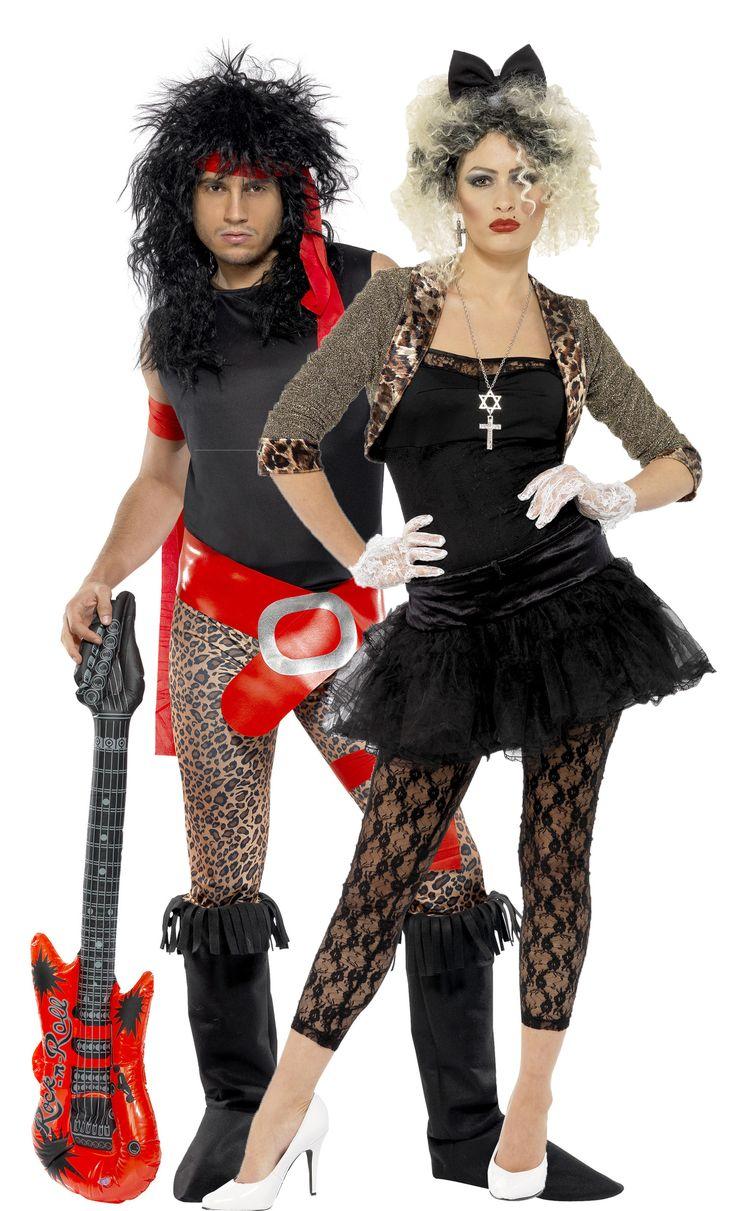 Déguisement couple rock années 80 : Deguise-toi, achat de Déguisements adultes