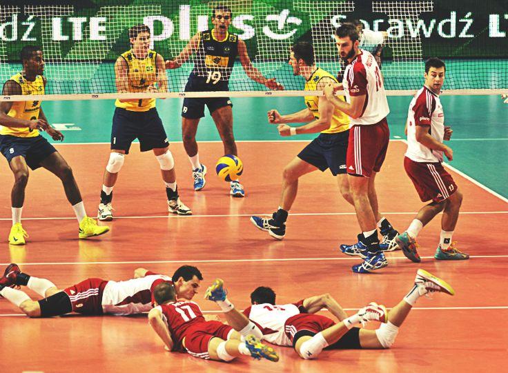 Poland 1 - 3 Brazil | Warsaw, 07/06/2013 - FIVB Volleyball World League 2013