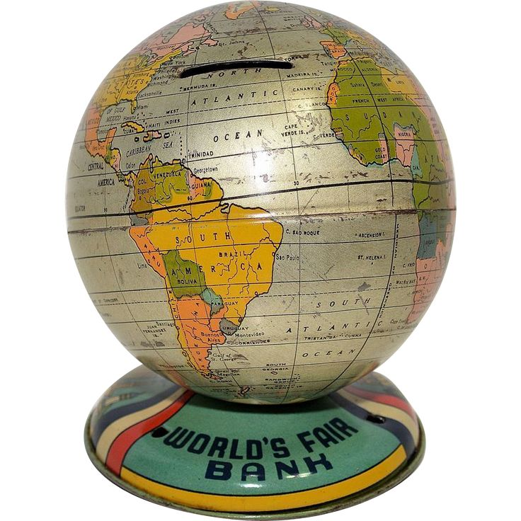 Chein 1939 New York Worldu0027s Fair Globe